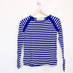 Zara Knit | Striped Long Sleeve Top